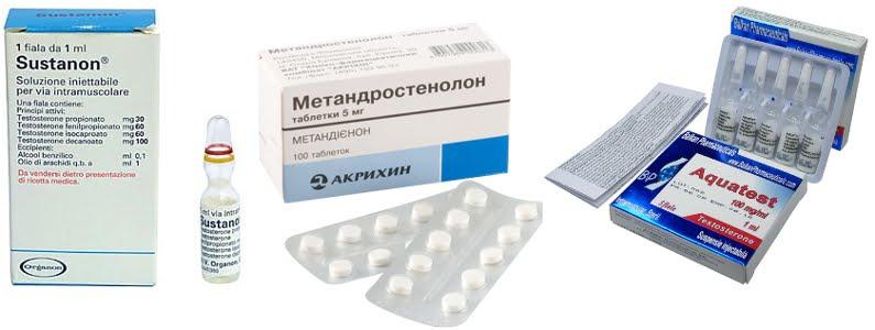 Стероидные препараты для набора мышечной массы