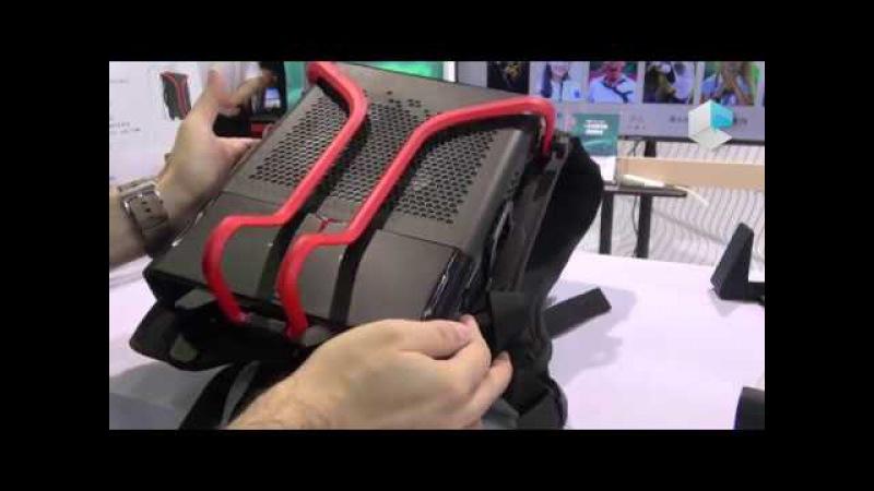 Lenovo Legion VR PC zaino e desktop multimode con water cooling