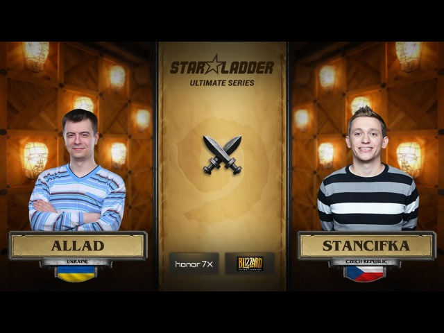 Allad vs StanCifka StarLadder Hearthstone Ultimate Series