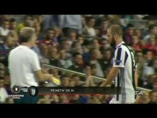 Игуаин показал средний палец фанатам Барселоны!
