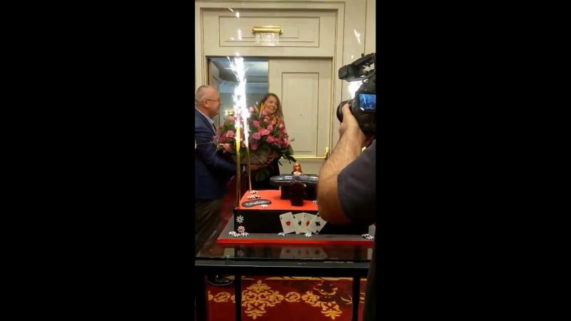 День рождения Софии Лёвгрен на 888pokerLive