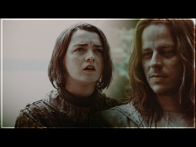 ▲Jaqen H'ghar X Arya Stark You Should Know Where I'm Coming From