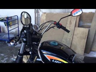 Трицикл Лифан 200   трехколесный грузовой мотоцикл с кузовом