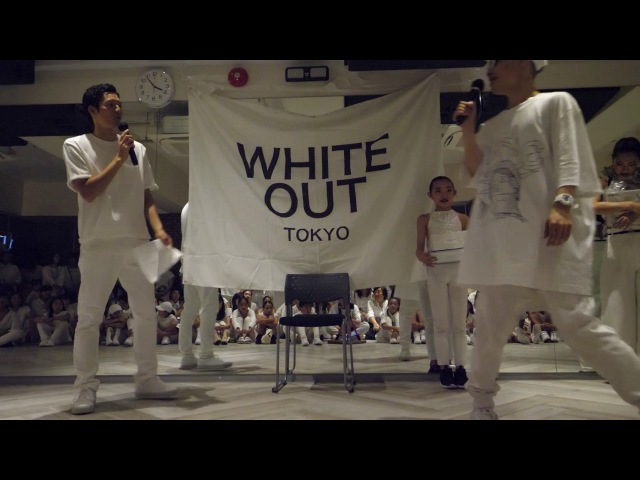 WINNER つくし JUDGE IBUKI interview WHITE OUT TOKYO vol 4 WAACKIN DANCE BATTLE