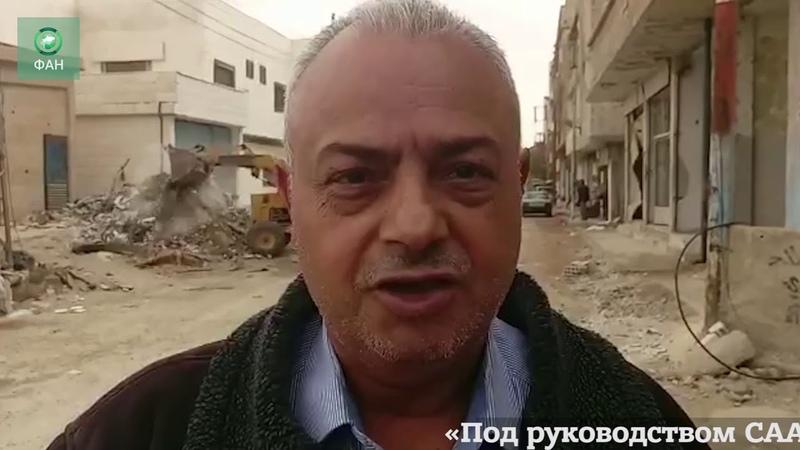 Сирия ФАН публикует видео восстановления улиц провинции Эль Кунейтра