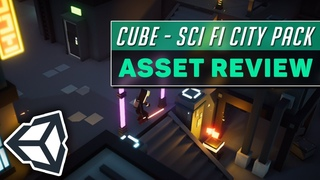 Asset Review: Sci-Fi City Pack (Low Poly) | Unity