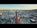 SUNDSVALL FROM ABOVE [WINTER] Shoot with DJI Mavic Pro in 4K