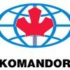 Шкафы-купе KOMANDOR (г. Новый Уренгой)