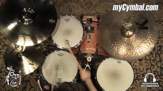 """Zildjian 20"""" A Custom Projection Crash Cymbal - 2291g - Played by Shawn Zorn (A20581-1033016Z)"""