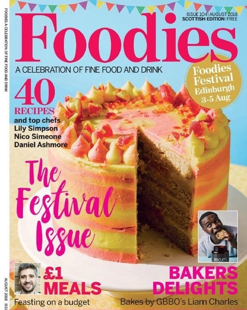 Foodies Magazine August 2018