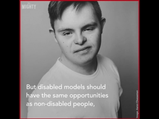 Meet jack, a model with down syndrome