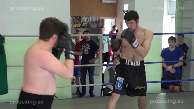 22.04.2015 Dmitrijs Avsejenkovs VS Arturs Kulikauskis proboxing.eu