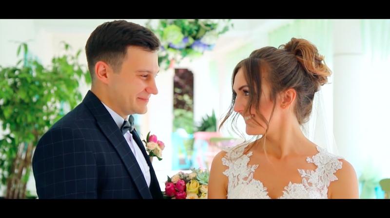 Фантастическая Свадьба Евгения и Екатерины Ролик смонтирован и показан сразу на Свадебном торжестве