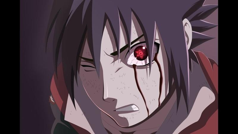 Sasuke uses Amaterasu vs Killer Bee Саске использует аматерасу против Киллера би