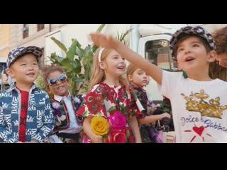 DolceGabbana Spring Summer 2019 Childrens Campaign