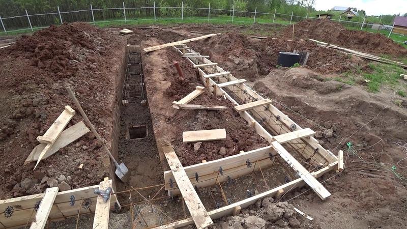 Ленточный фундамент 16 часть свайно-ростверковый