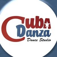 Логотип CUBA DANZA / школа танцев / Челябинск