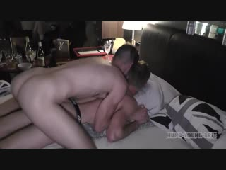 Hung Young Brit - Part 2 - Raw orgy at mine after awards Dirty cum Pig party [720p]
