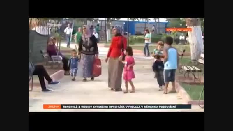 Sýrsky migrant prišiel do Nemecka a dostal zadarmo veľký byt. Každý mesiac dostáva sociálne dávky tisíce EUR. Má 3 ženy a 6 detí