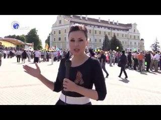 """Спецрепортаж ко Дню Победы (Телеканал """"Пинск"""",  19:29)"""