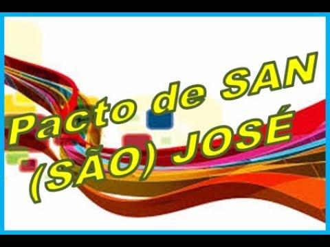 Convenção Americana Pacto de São José Costa Rica - Direitos Humanos para Concursos