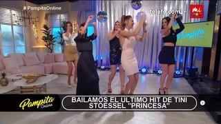 """Pampita Online on Instagram: """"¡ATR en #PampitaOnline! 💥 Aprendimos la coreo de """"Princesa"""" el nuevo éxito de @tinitastoessel 💃 ¡Una bomba!"""""""