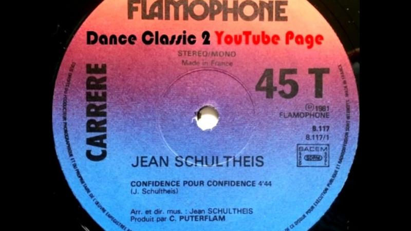 Jean Schultheis Confidence Pour Confidence Version Longue