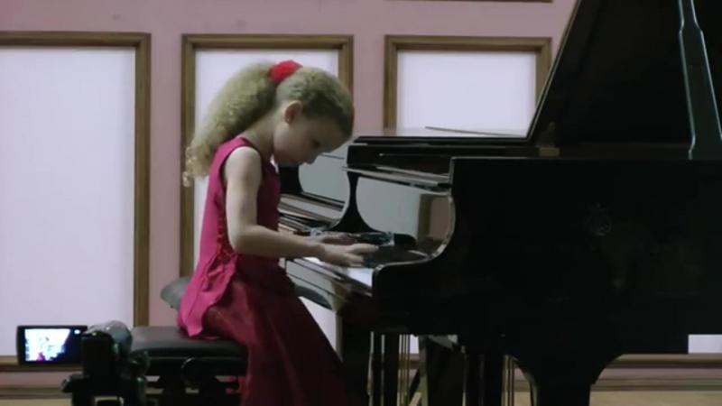 Varvara Kutuzova 9yo VI Конкурс Артоболевской Iтур 3класс ЦМШ