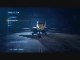 Ace Combat 7 Skies Unknown - PS4_XB1_PC - Aircraft Customization