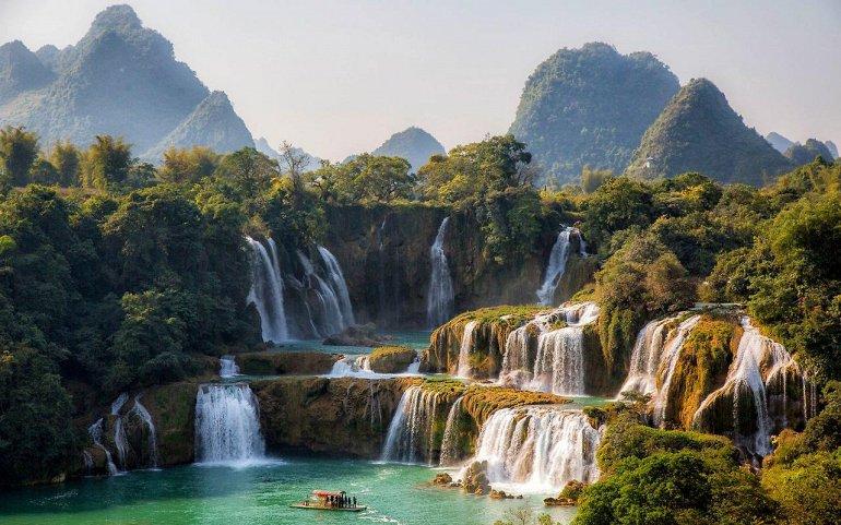 Водопад Дэтянь - Азиатское Чудо Природы, изображение №1
