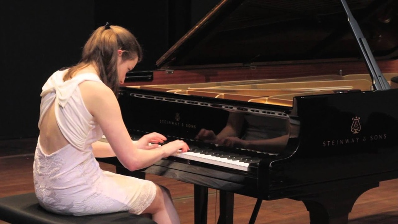 J.S. Bach - Prelude Fugue BWV 847 in c minor by Nathalie Matthys