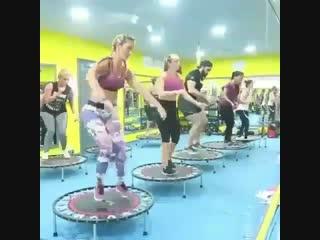 Как вам такая тренировка попробовали бы
