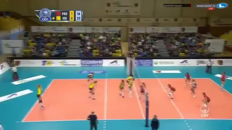 CEV 2018 l Fenerbahçe vs Agel PROSTEJOV l Volleyball Champions