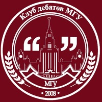 Логотип Клуб дебатов МГУ