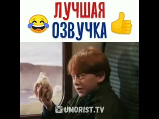 новая озвучка Гарри Поттера