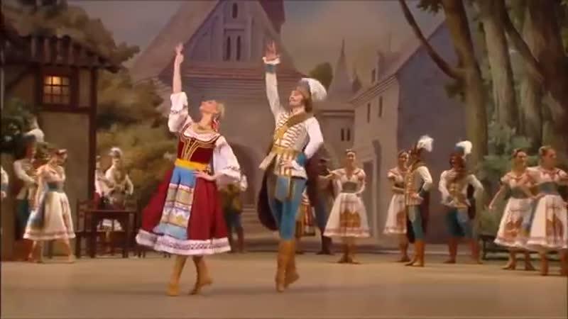 из комического балета Коппелия первый акт мазурки в исполнении балета Большого театра 2011 г