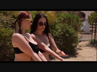 Siri and jelena jensen lesbian, massage, big tits new