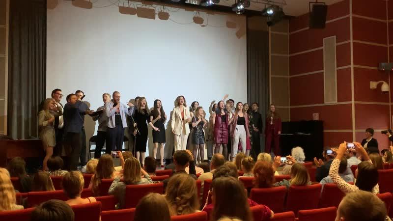 Выпускной журфака 2019 МПГУ, ИЖКМ - стендап Кирилла Губанова и гимн-песня
