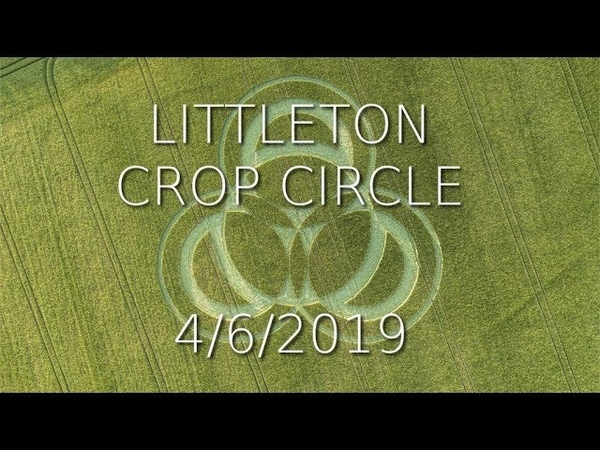 New Crop Circle Long Wood Littleton Hampshire Reported 3 6 2019