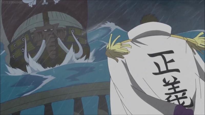 One Piece OST - Jack vs Fujitora, Sengoku and Tsuru
