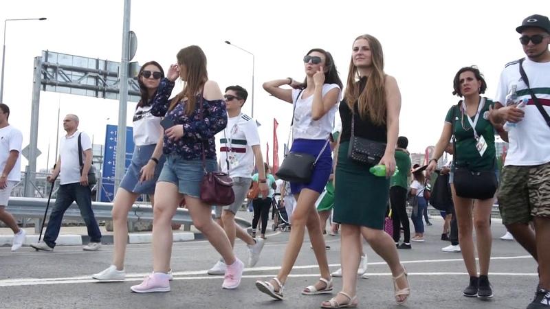 ЧМ 2018 перед матчем Республика Корея - Мексика (Ростов)