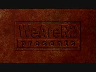 Лого для WeAreR2 в стиле Id в Quake 2