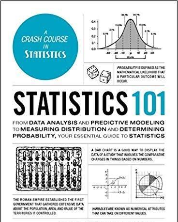 Book cover Statistics 101