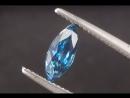 Grade A Color Blue Zircon Marquise Navette 2.4ct
