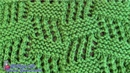 TEJIDOS A DOS AGUJAS: 43- Bloques/ KNITTING WITH TWO NEEDLES: Blocks Stitch