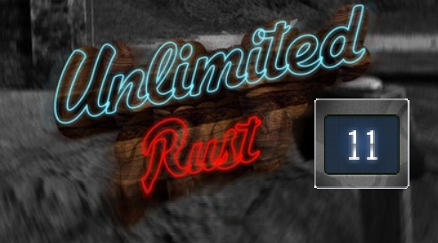 Rust UNLIMITED account 11 Year Badge 6LVL