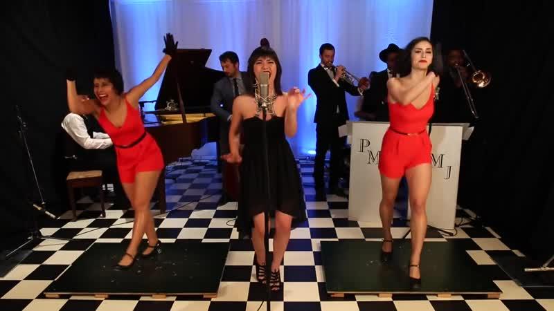 Bad Romance - Postmodern Jukebox Reboxed ft. Sara Niemietz The Sole Sisters (2)