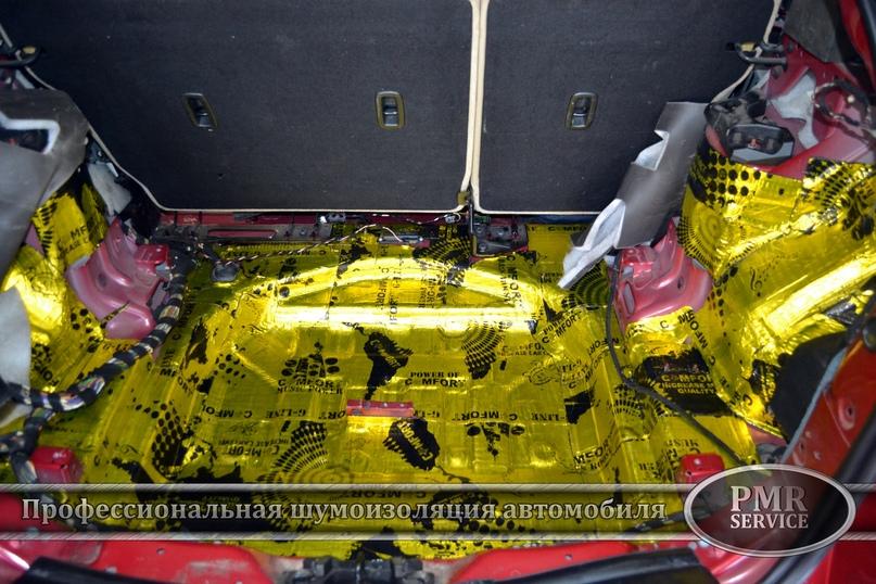 Комплексная шумоизоляция Land Rover Evoque, изображение №9