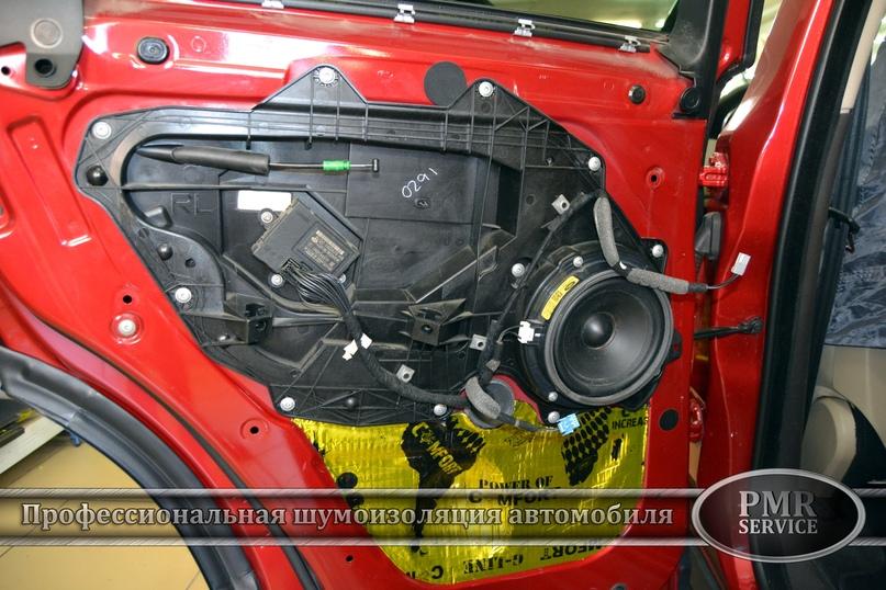 Комплексная шумоизоляция Land Rover Evoque, изображение №16