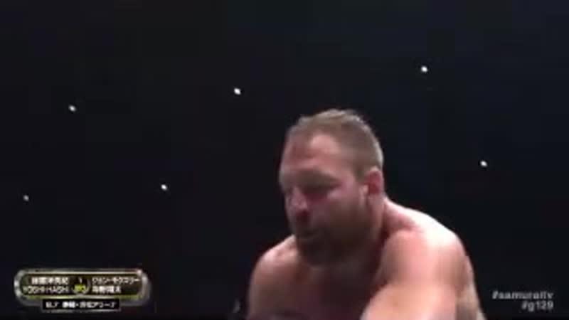 Джон Моксли и Шота Умино против Хирооки Гото и Йоши Хаши NJPW 16 7.08.19